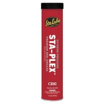 CRC STA-PLEX EXTREME PRESSURE PREMIUM RED GREASE, 14 OZ