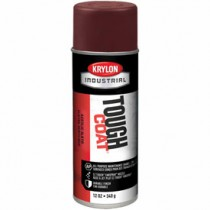 Krylon Industrial Tough Coat Acrylic Enamel (Color: Cordova Brown)