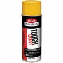 Krylon Industrial Tough Coat Acrylic Enamel (Color: Osha Yellow)