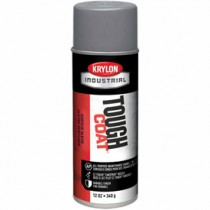 Krylon Industrial Tough Coat Acrylic Enamel (Color: Industrial Gray)