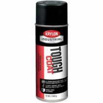 Krylon Industrial Tough Coat Acrylic Enamel (Color: Max Flat Black)